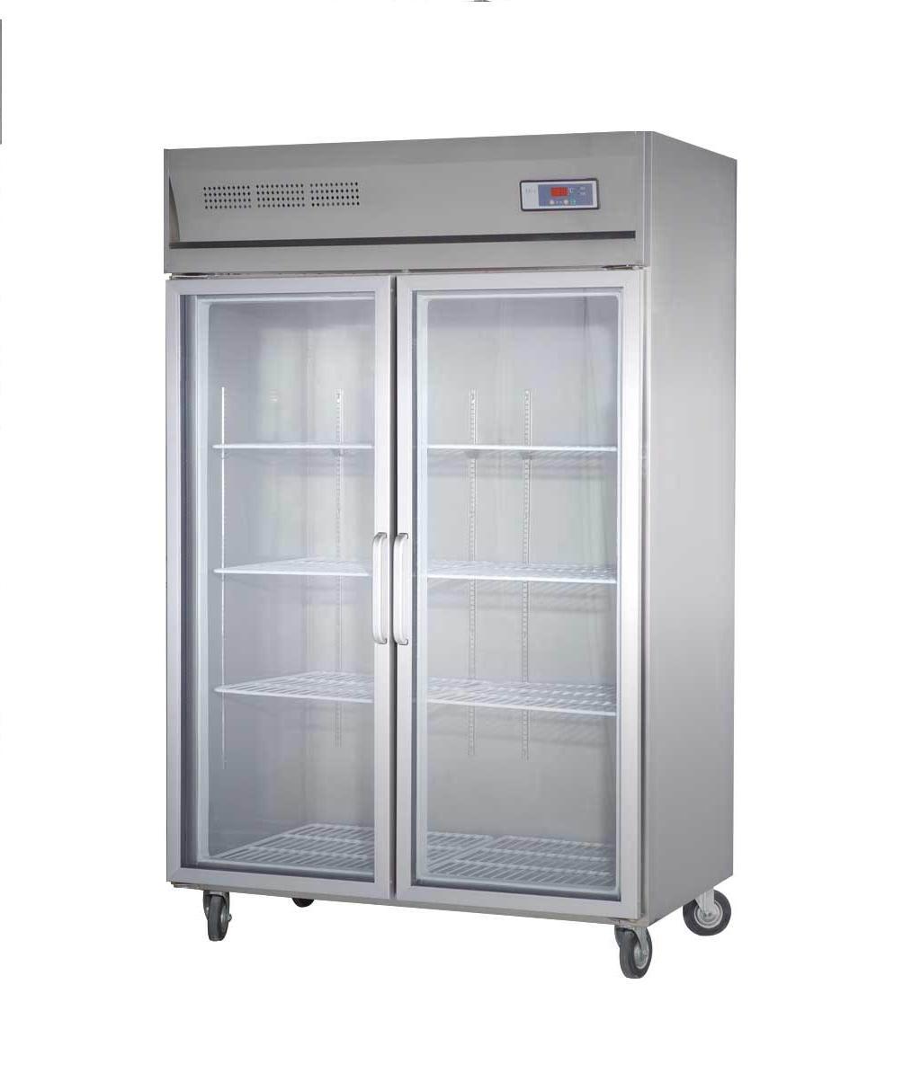 1000L恒温恒湿柜玻璃两门